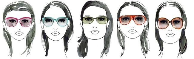 women cartoons wearing glasses for faces shape in Rocky River, OH