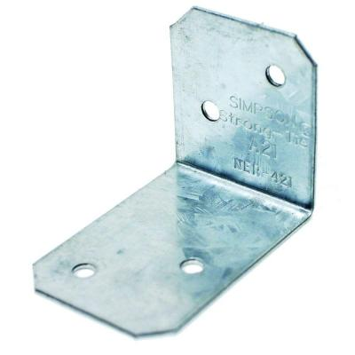 Simpson Strong-Tie 18-Gauge Galvanized Steel Angle-A21.jpg