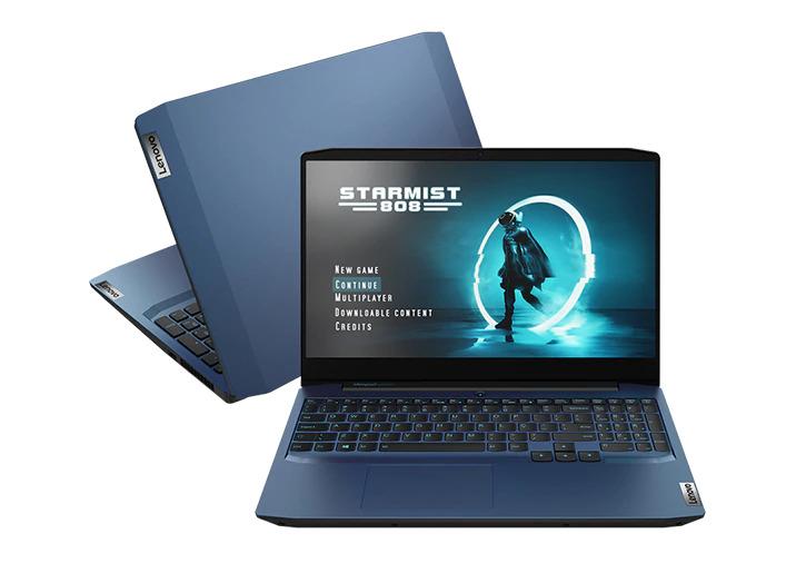 Foto de Melhor notebook para arquitetos do modelo Lenovo Ideapad 3i Gaming (82CG0005BR)