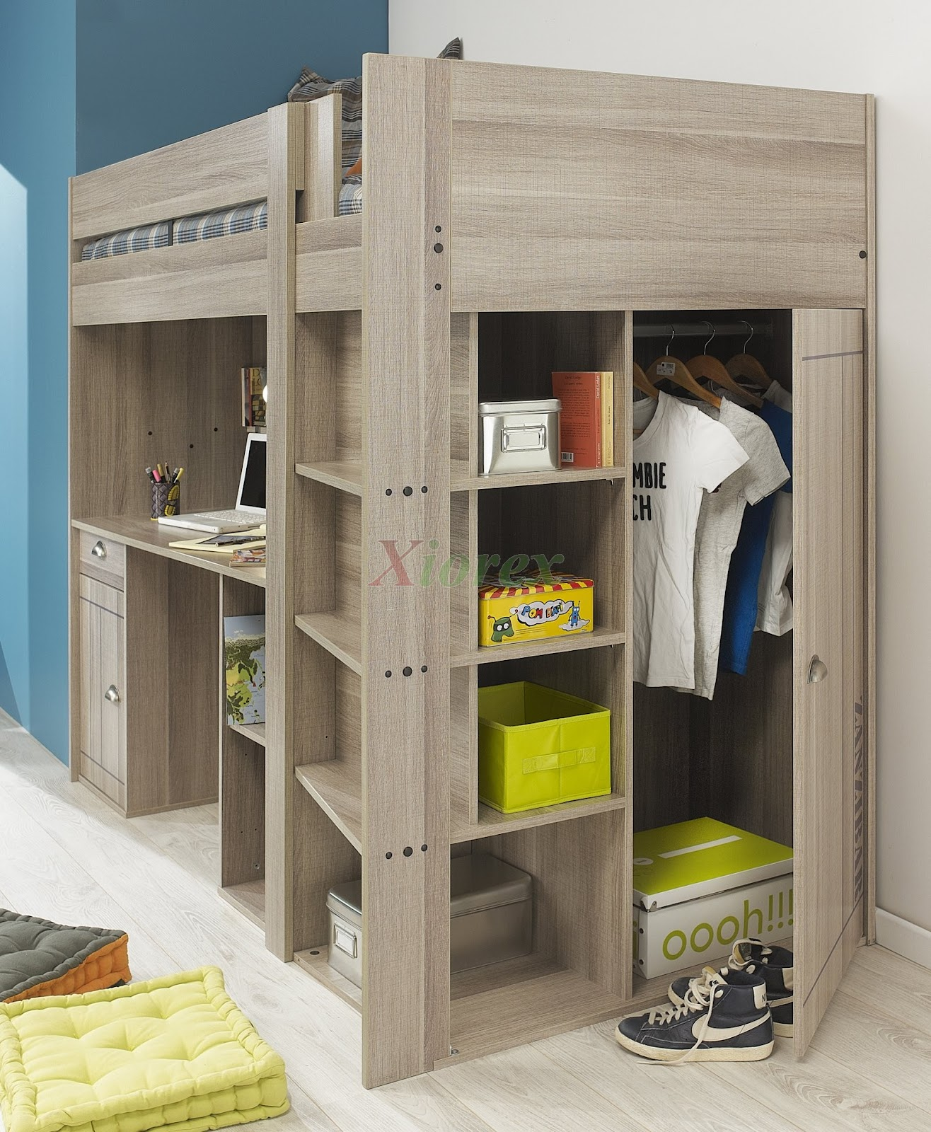 Use Space Under the Bed as a Closet