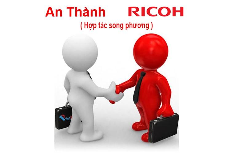 Hợp tác song phương giữa An Thành và Ricoh nhằm phân phối mực in mã vạch resin chính hãng