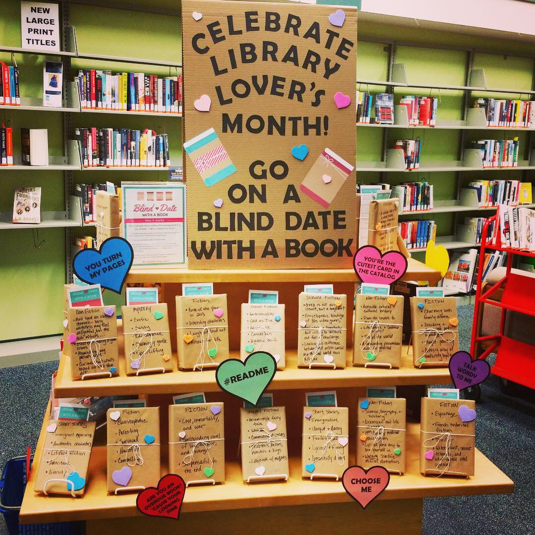 Love Your Library? Go on a Blind Date with a Book! - I Love NJ Libraries