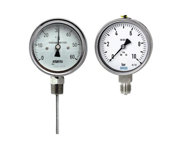 Đồng hồ đo áp suất được phân theo nguyên lý hoạt động