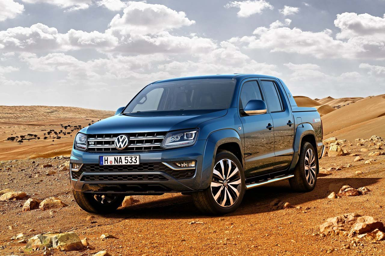 La Volkswagen Amarok Mejor pick up mediana