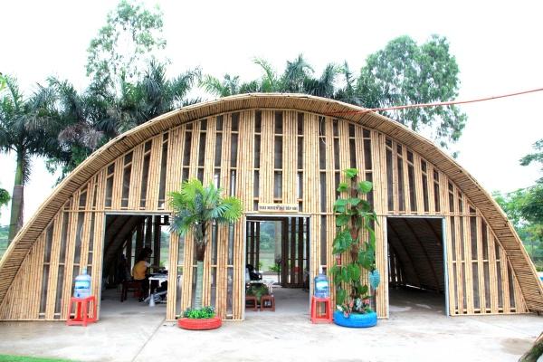 Khu nghỉ dưỡng tại khu sinh thái Veco Trâu Quỳ