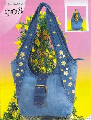 57a2599b619c Выкройка джинсовой сумки