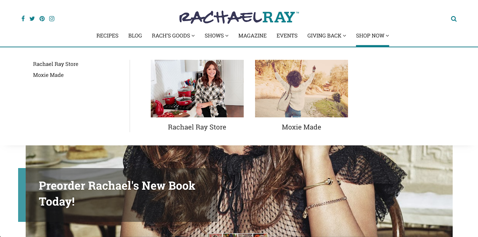Rachel Ray Attraction Marketing Example