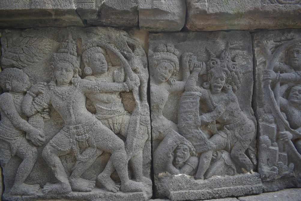 prambanan temple reliefe
