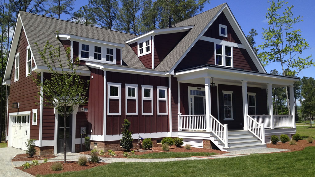 5 Fresh Brick And Siding Color Combinations Learn What Color Siding Looks Good Brick Allura Usa