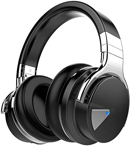 Cowin E7 Active Noise Canceling Headphones With Bluetooth For Audiophiles