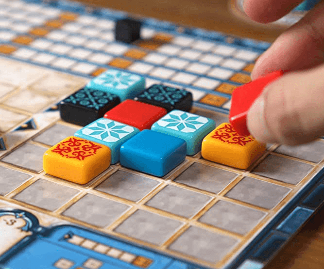 azul game play area