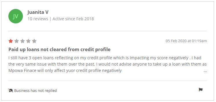 Mpowa Google reviews