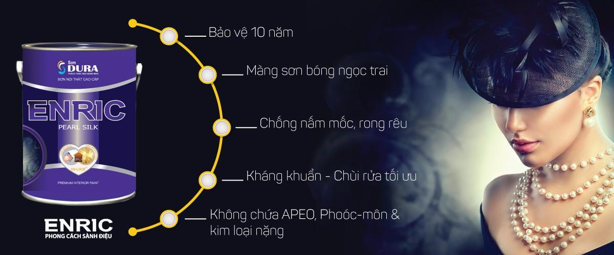 Sơn Enric Bóng Ngọc Trai