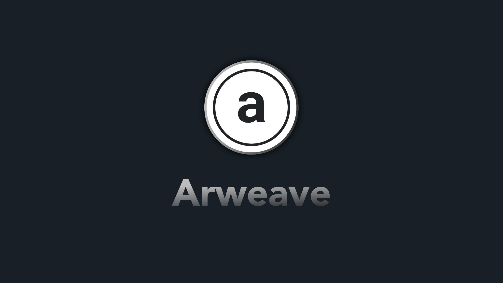 Blog Arweave token