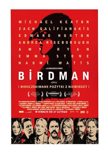 Polski plakat filmu 'Birdman'