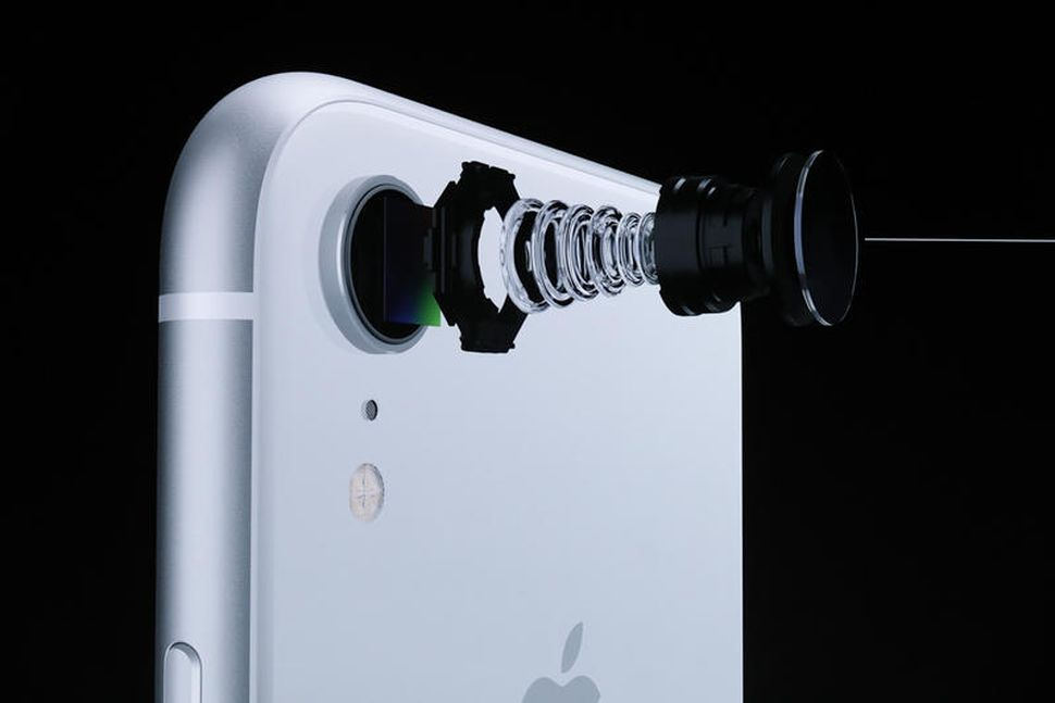 Камера iPhone XR фото