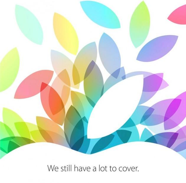 New iPad Press Event Official for October 22