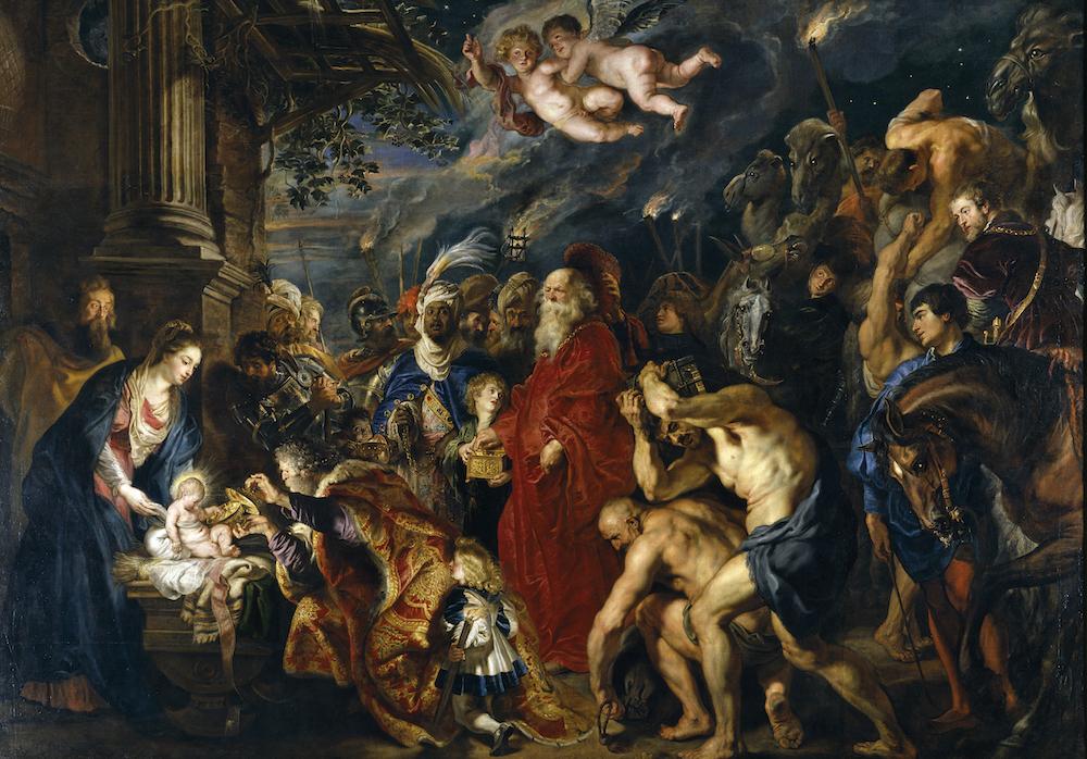 Rubens Adoration of the Magi (1609-1629) Photo: Wikimedia Commons