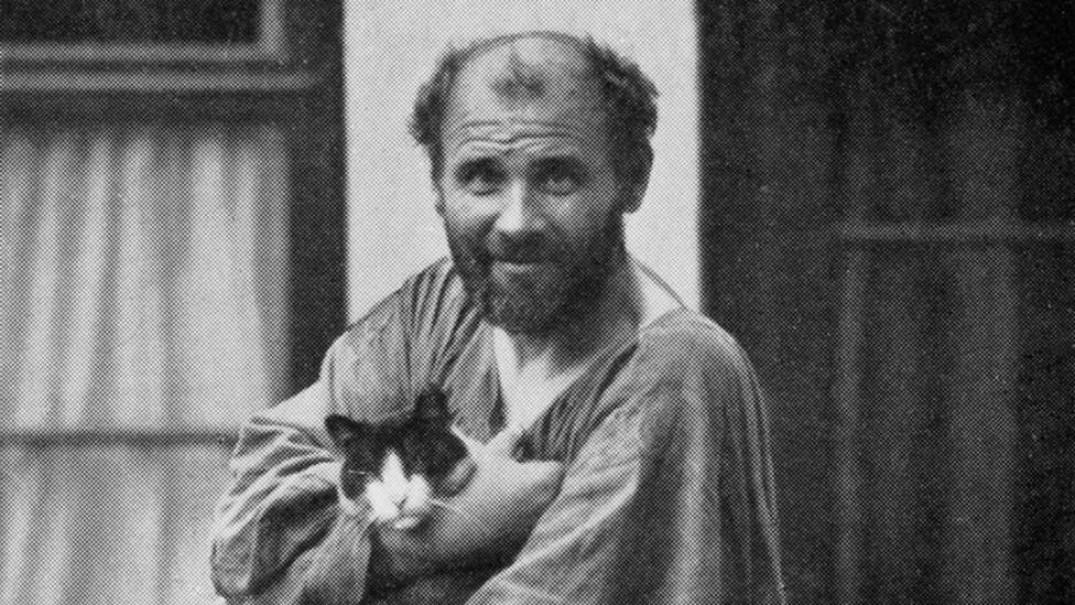 Maverick, kaftan-clad Gustav Klimt was one of the Bloch-Bauers` favourite artists (Credit: Alamy)