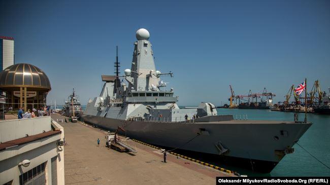 Корабли НАТО в Одесском порту (фоторепортаж)