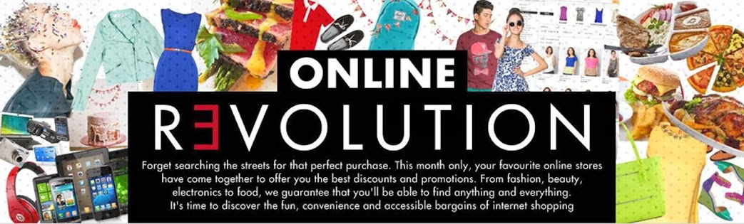 ZALORA, LAZADA and A-DEALS Online Revolution