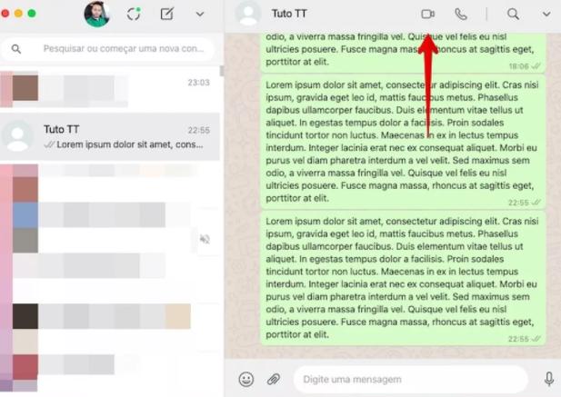 é possível realizar tanto chamadas de vídeo quanto de voz no WhatsApp pelo computador