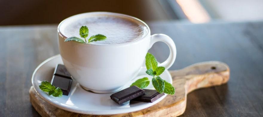 Kapsle s mátovou horkou čokoládou Nescafé Dolce Gusto