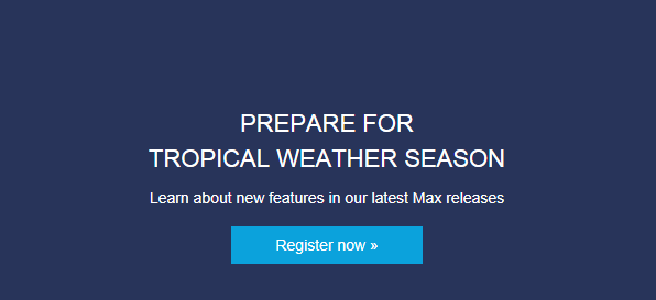 Prepare for the Tropical Weather Season
