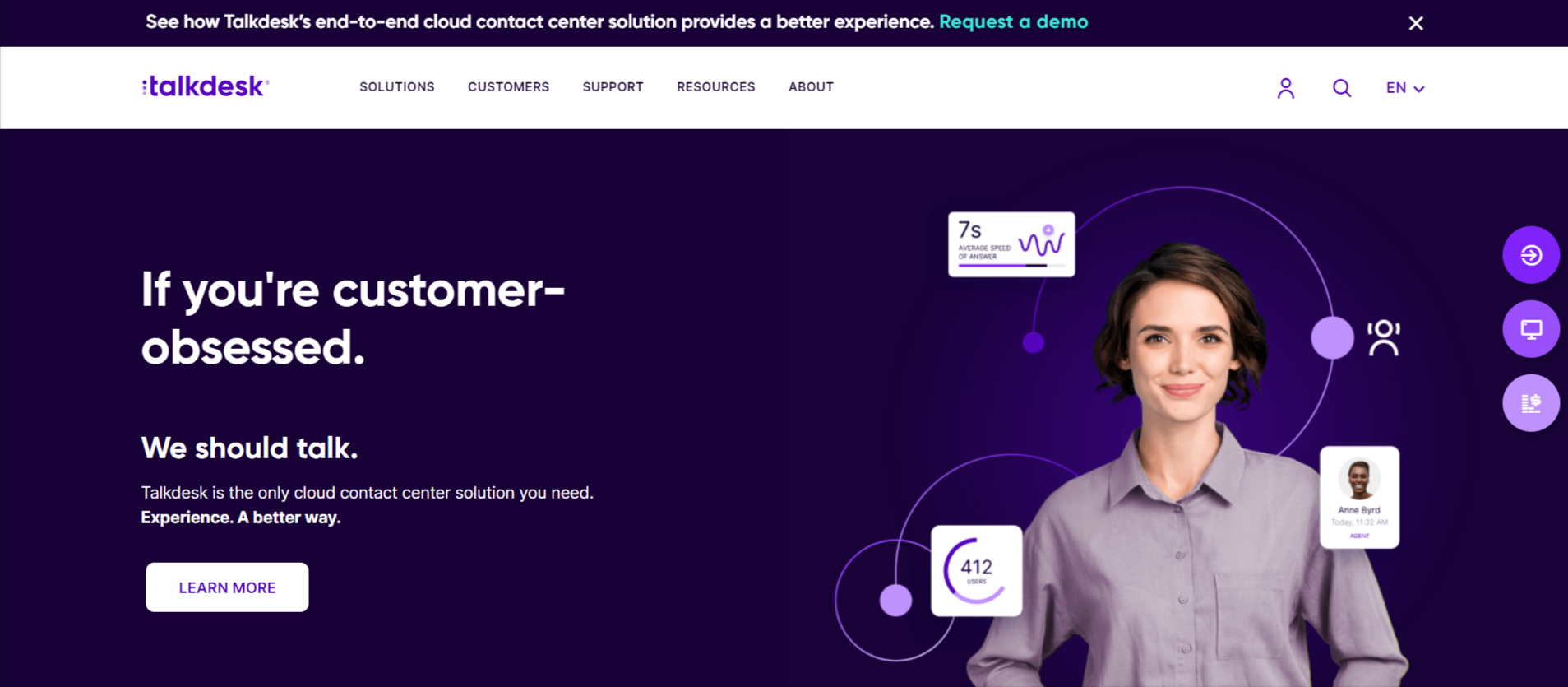 Talkdesk software- customer automation services
