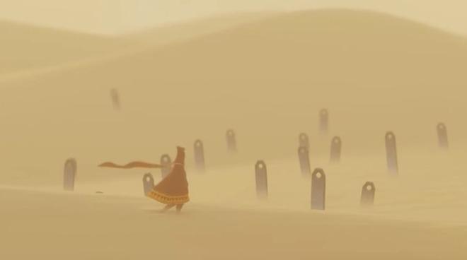 Sia Sky che Journey presentano narrazioni senza linguaggio