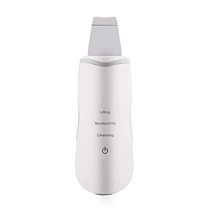 The Original Electric Skin Scrubber - Blackhead Remover - Comedone Extractor - Pore Cleaner Removal Kit - Facial Skin Exfoliator - Facial Lifting Tool
