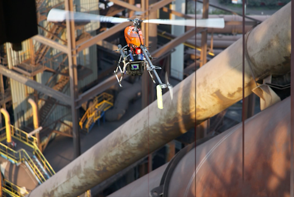 Drones Help World's Leading Steel Giant ArcelorMittal To Accomplish Its New Industrial Revolution