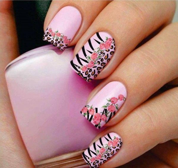 cute nail designs creem (7)