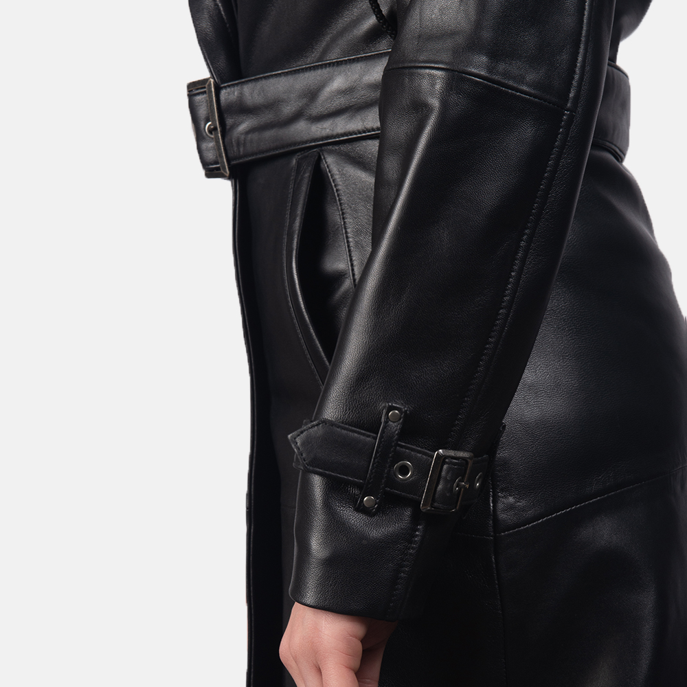 best black trench coat for women