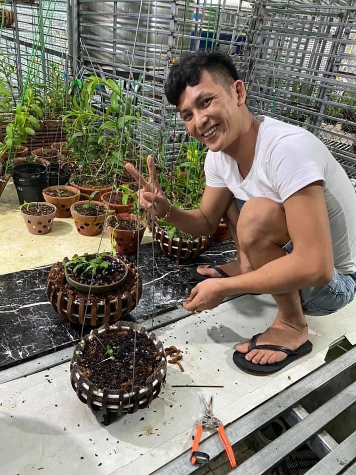 Nghệ nhân Trần Hải Đoàn chia sẻ bí quyết trồng lan thành công - Ảnh 4