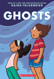 Image result for ghosts by raina telgemeier book