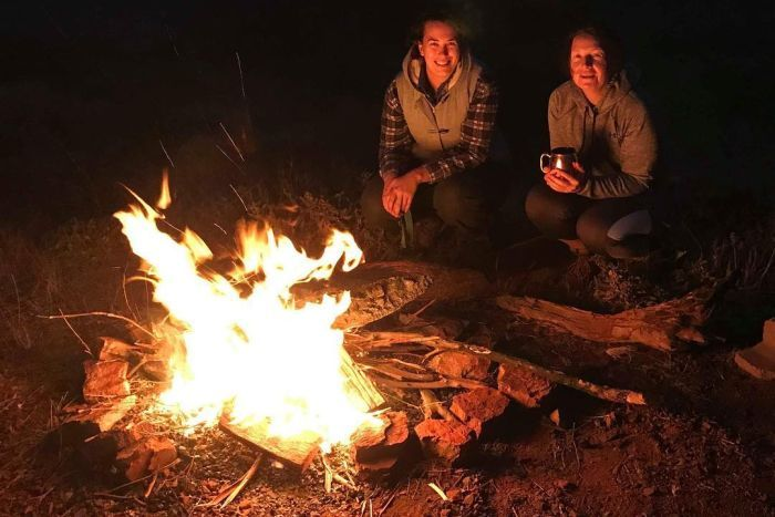Aussie outback Campfires