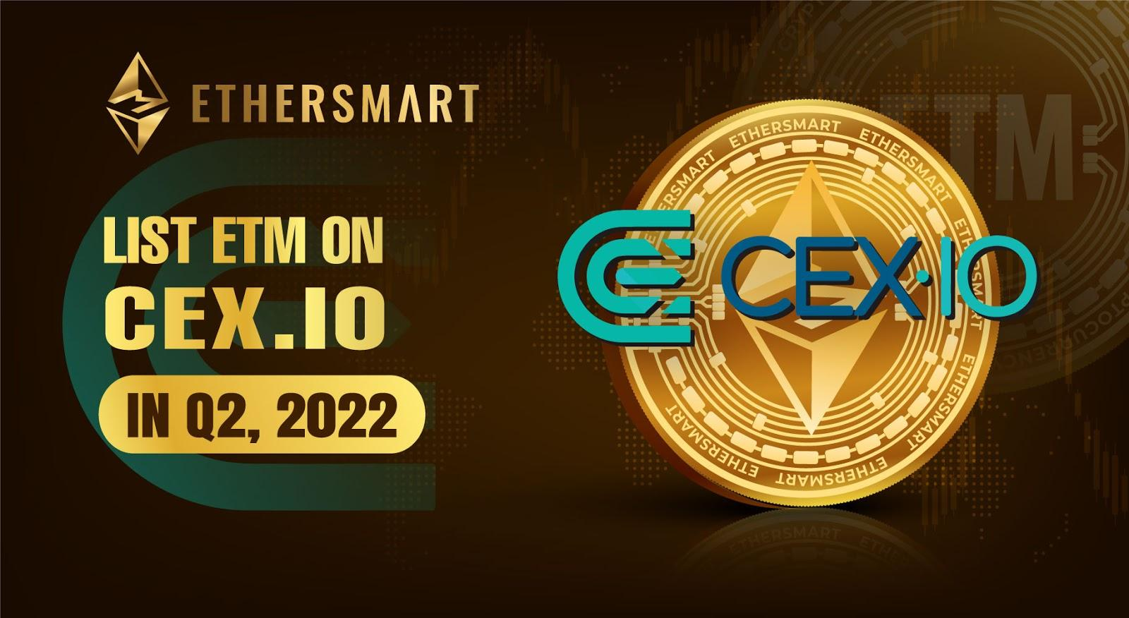 ETM listing on the world's largest centralized cryptocurrency exchanges