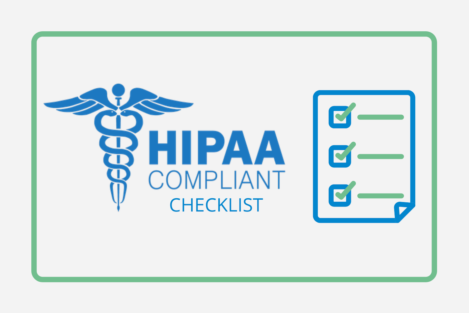 HIPAA Complaint Checklist