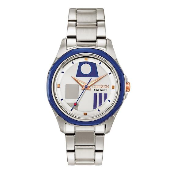 Citizen Star Wars R2 D2 Limited Edition Women's Watch FE7050-50W