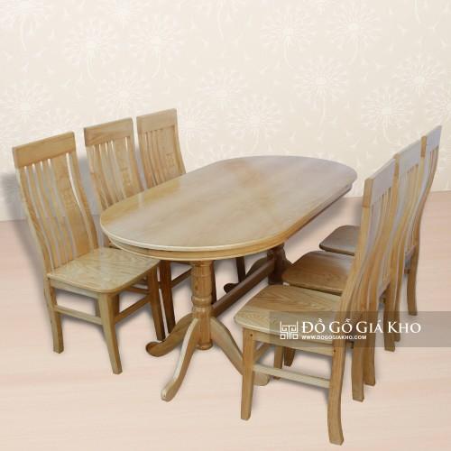 Những mẫu bàn ăn gỗ sồi được ưa chuộng nhất