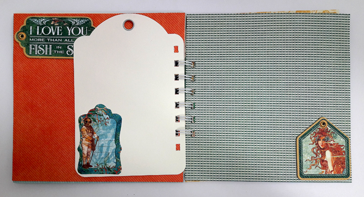 Vacation Notebook, Einat Kessler, Voyage beneath the Sea, product by Graphic 45, photo 2.jpg