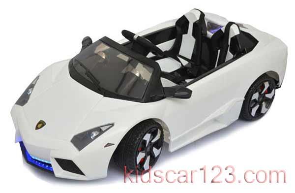 xe hơi điện trẻ em ls-518 màu trắng
