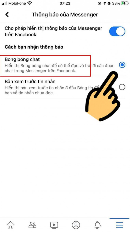Bong bóng chat Messenger có mặt trên iOS, bạn đã biết cách mở chưa? - 4