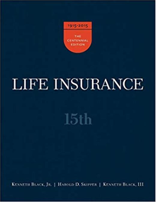Seguro de Vida; (15a edición) por Jr. Kenneth Black, Harold D. Skipper, III Kenneth Black