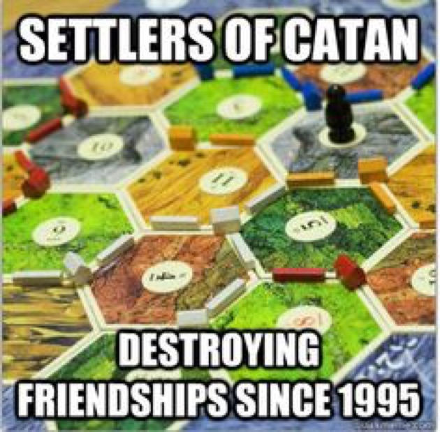 Settlers of catan meme