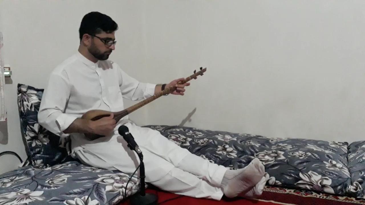 در کنج دلم عشق کسی خانه ندارد احمد ظاهر سهتار عبدالهادی توخی