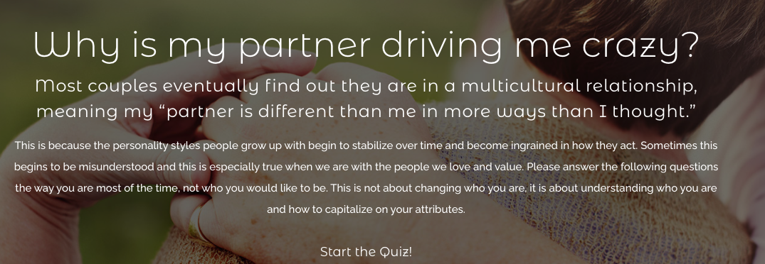 quiz cover for Why is my partner driving me crazy?