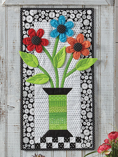 How does your garden grow wall pattern