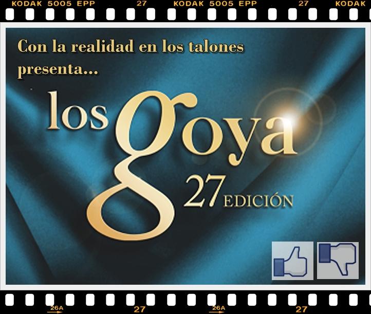 Los Goya edición 27